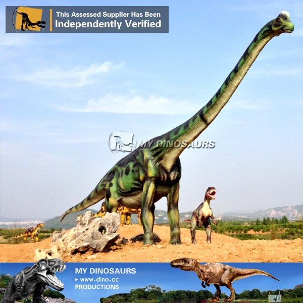Fiberglass Dinosaur Statue Of Brachisaurus