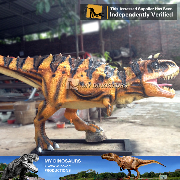 Amusement Resin Dinosaur Carnotaurus Model