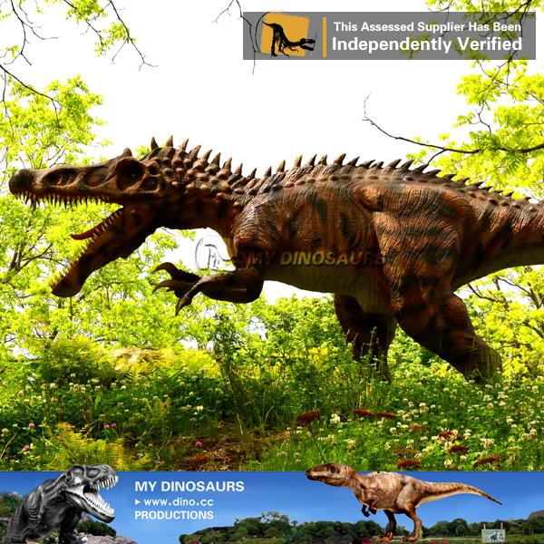 Full Scale Fiberglass Dinosaur Irritator Statue