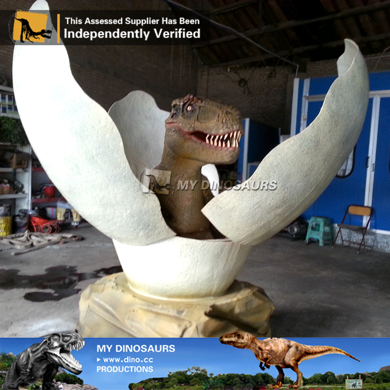 Custom Made Decorative Animatronic Dinosaur Eggs For Sale