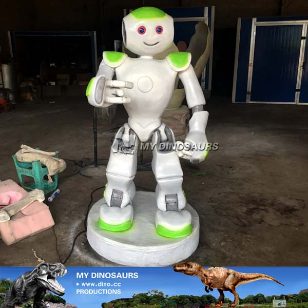 Custom Made Animatronic Speaking Robot for Sale