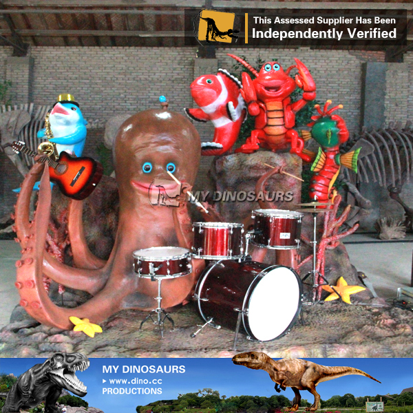 Video Shop Decoration animatronic Octopus Band