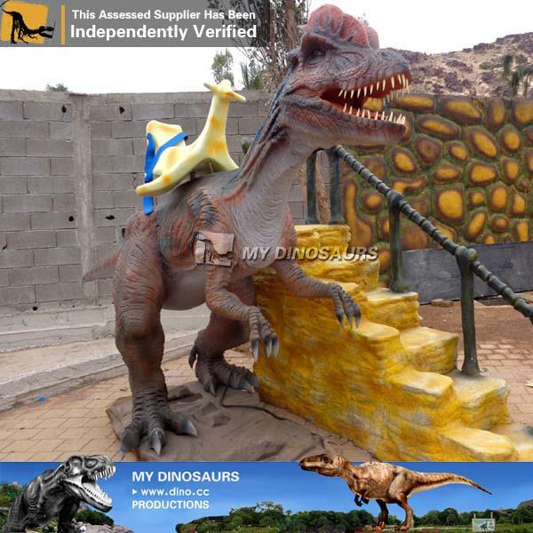Jurassic Theme Park Equipment Mechanical Dinosaur Ride for Sale