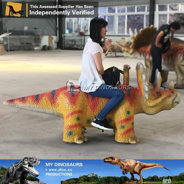 Theme Park Full Size Dinosaur Amusement Ride Car
