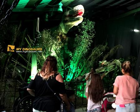 Traveling Simulation Dinosaur Exhibition with animatronic dinosaur