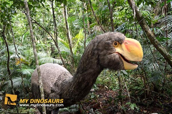Jurassic Dinosaur And Ice Age Animals For Outdoor Rain Forest Adventure Park