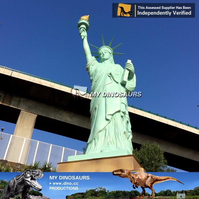 Fiberglass Proportionable Model Statue Of Liberty