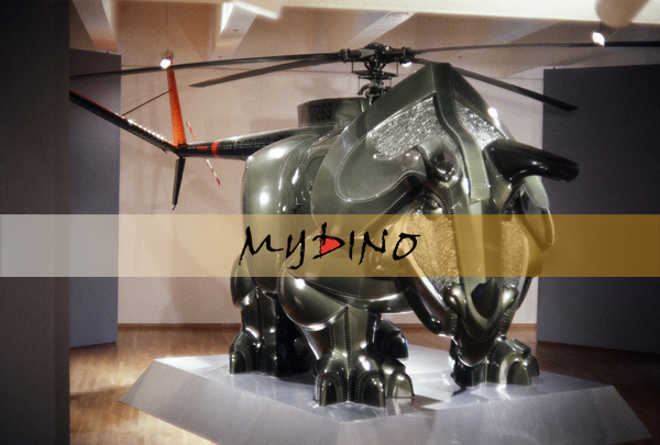 Dino-like Helicopter