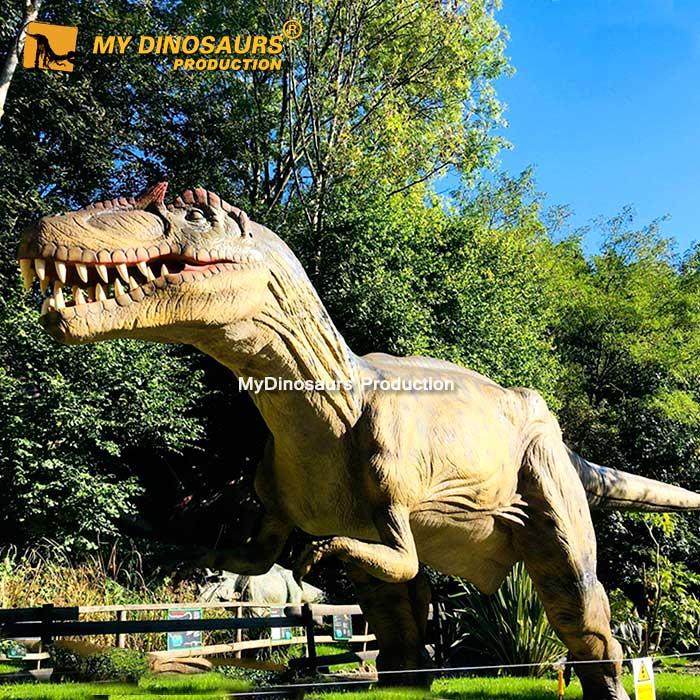 Animatronic allosaurus 1