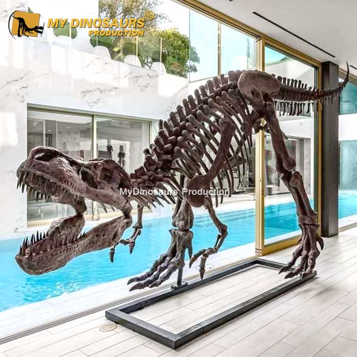 T rex Skeleton Sculpture