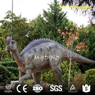 amusement park life size animatronic dinosaur