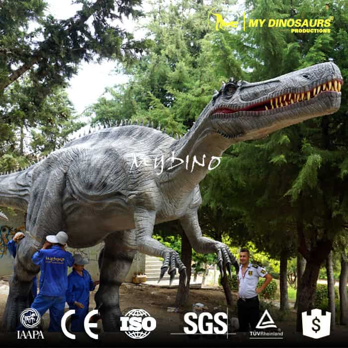 animatronic dinosaur outdoor