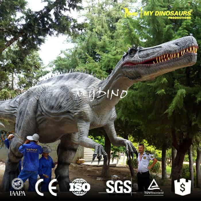 animatronic dinosaur outdoor