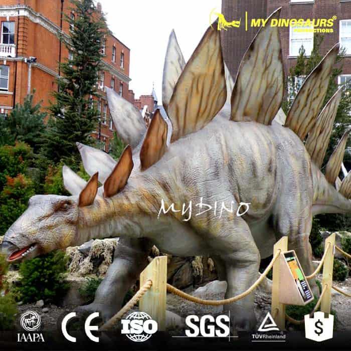 artificial dinosaur stegosaurus