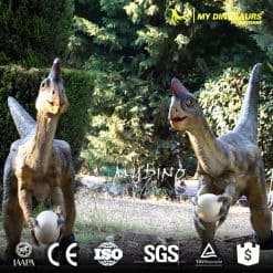 artificial dinosaur type animatronic