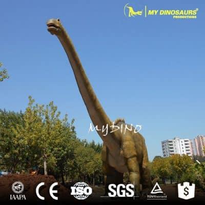 big size animatronics dinosaur playground equipment