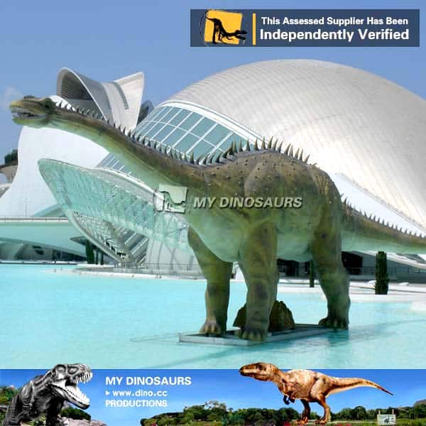 Water Park Realistic Robotic Dinosaur Diplodocus for Sale