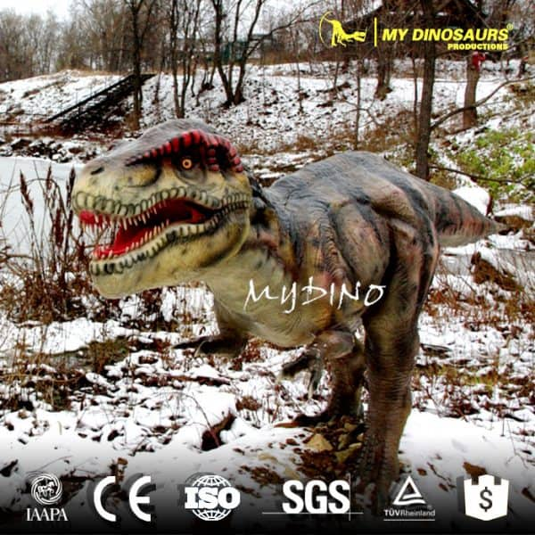 fiber glass dinosaur