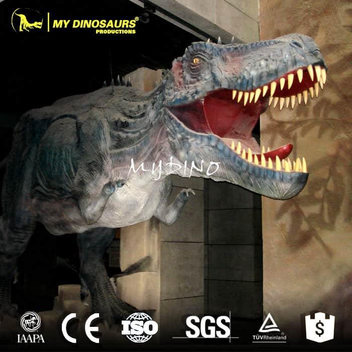 fiberglass dinosaur sculpture
