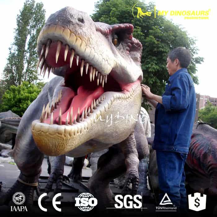 life size t rex dinosaur
