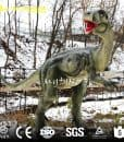 outdoor dinosaur sculpture