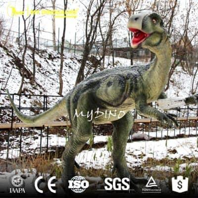 outdoor dinosaur sculpture