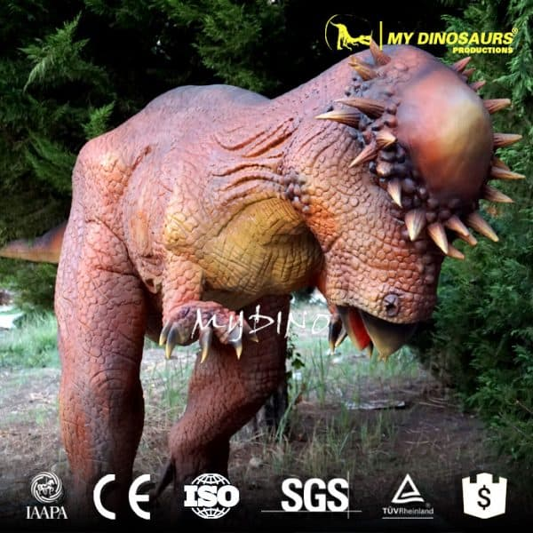 Dinosaur Statue Pachycephalosaurus
