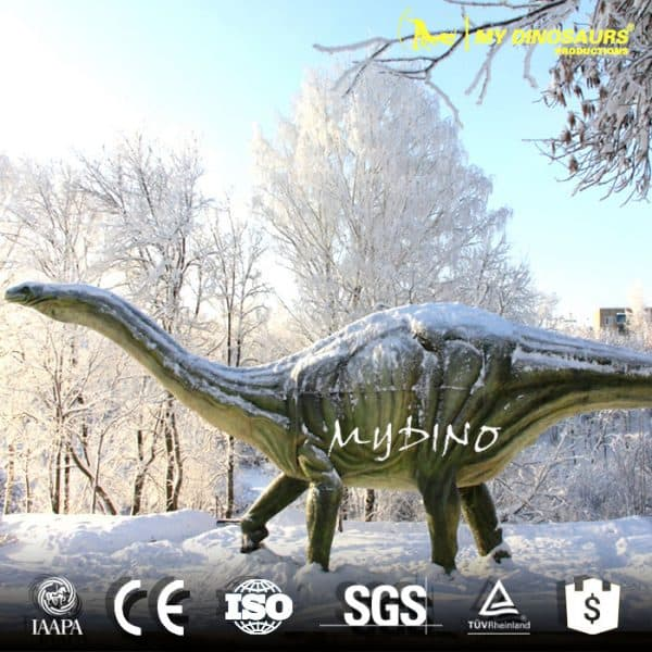 playground dinosaur sculpture