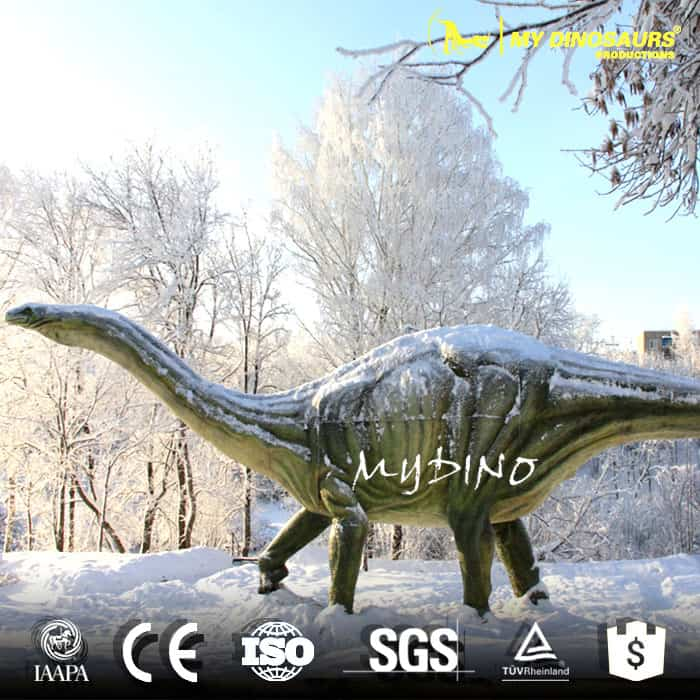 playground dinosaur sculpture