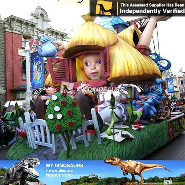 Alice Wonderland Statue