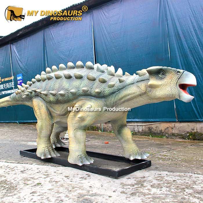 Life size Ankylosaur model
