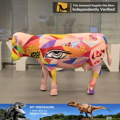 Life Size Cow Statue