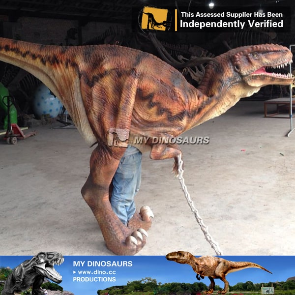 adult halloween costumes realistic walking dinosaur suit