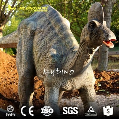amusement dinosaur
