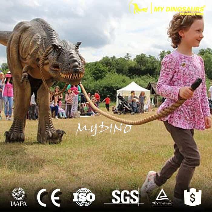 amuseum park dinosaur costume