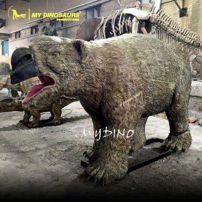 animatronic Diprotodon
