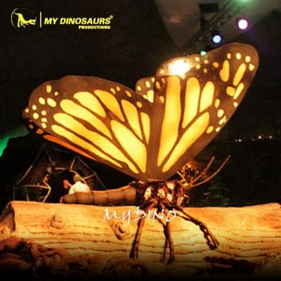 animatronic butterfly 3