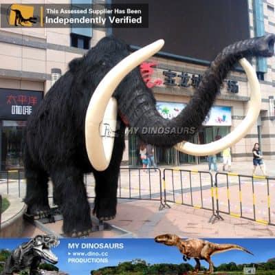 animatronic ice age animals mammoth
