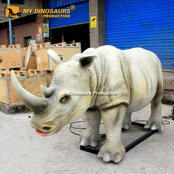 animatronic rhinoceros 1