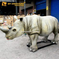animatronic rhinoceros