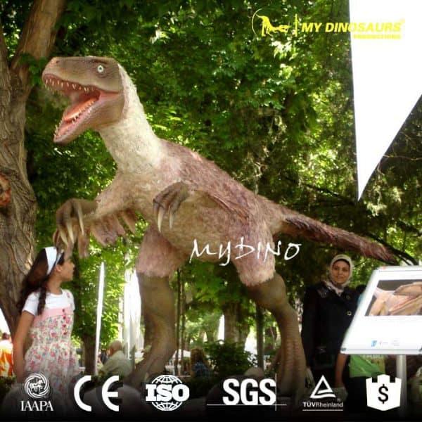 dinosaur exhibition Velociraptor