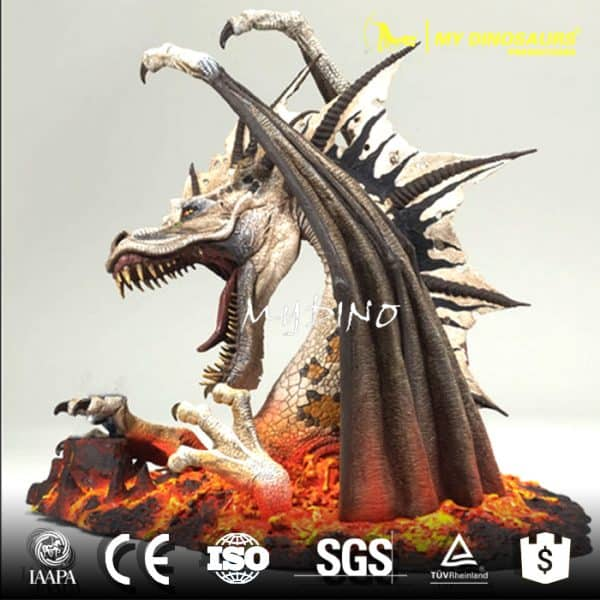 dragon life size