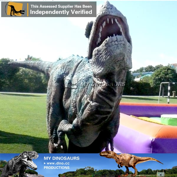 jurassic world animatronic dinosaur costume