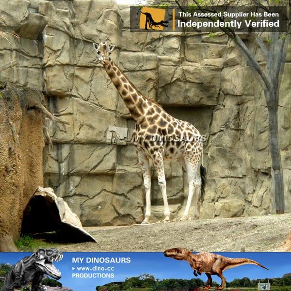 life size silicone animatronics animal giraffe