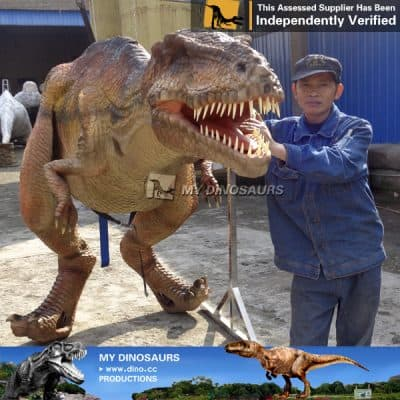 mechanical dinosaur costume for sale