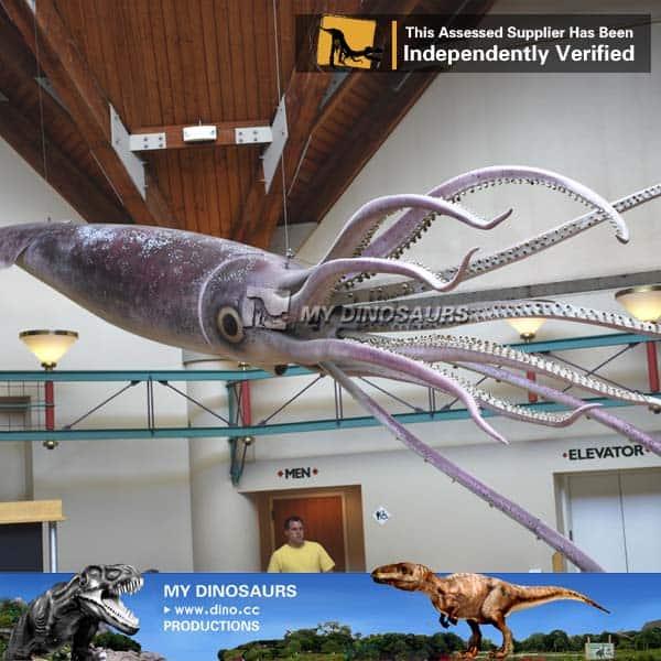 Realistic Octopus Model