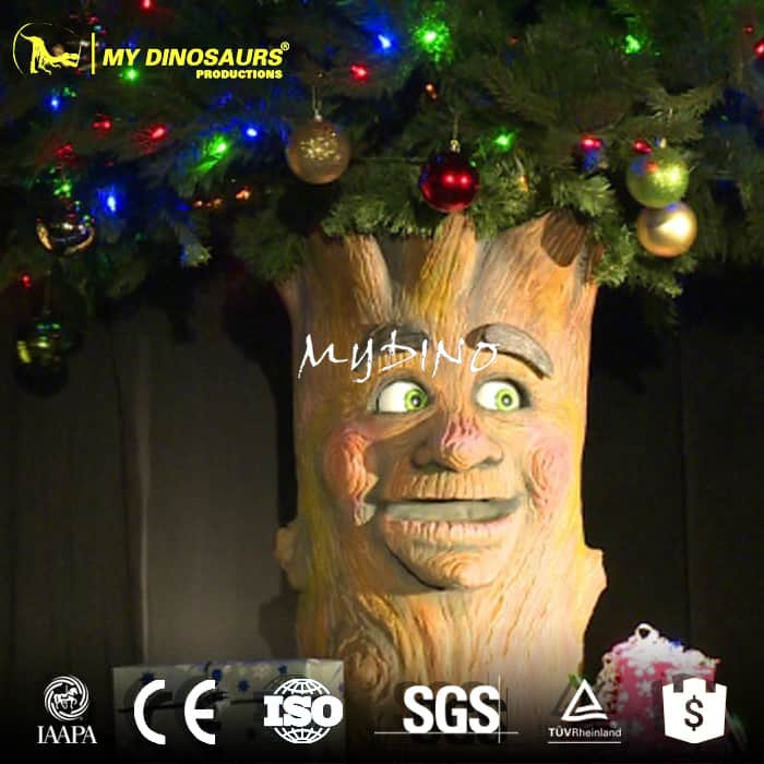 animatronic chirstmas talking tree