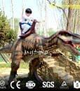 Remote Control Dinosaur Rides