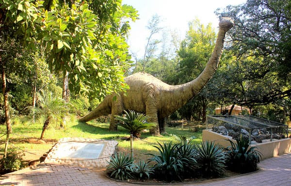 Dinosaurs in Indroda Nature Park
