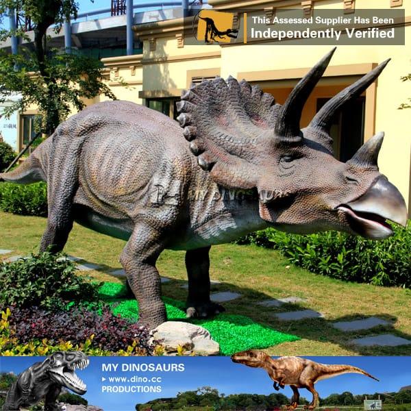 animatronic triceratops dinosaur model for dinosaur movies